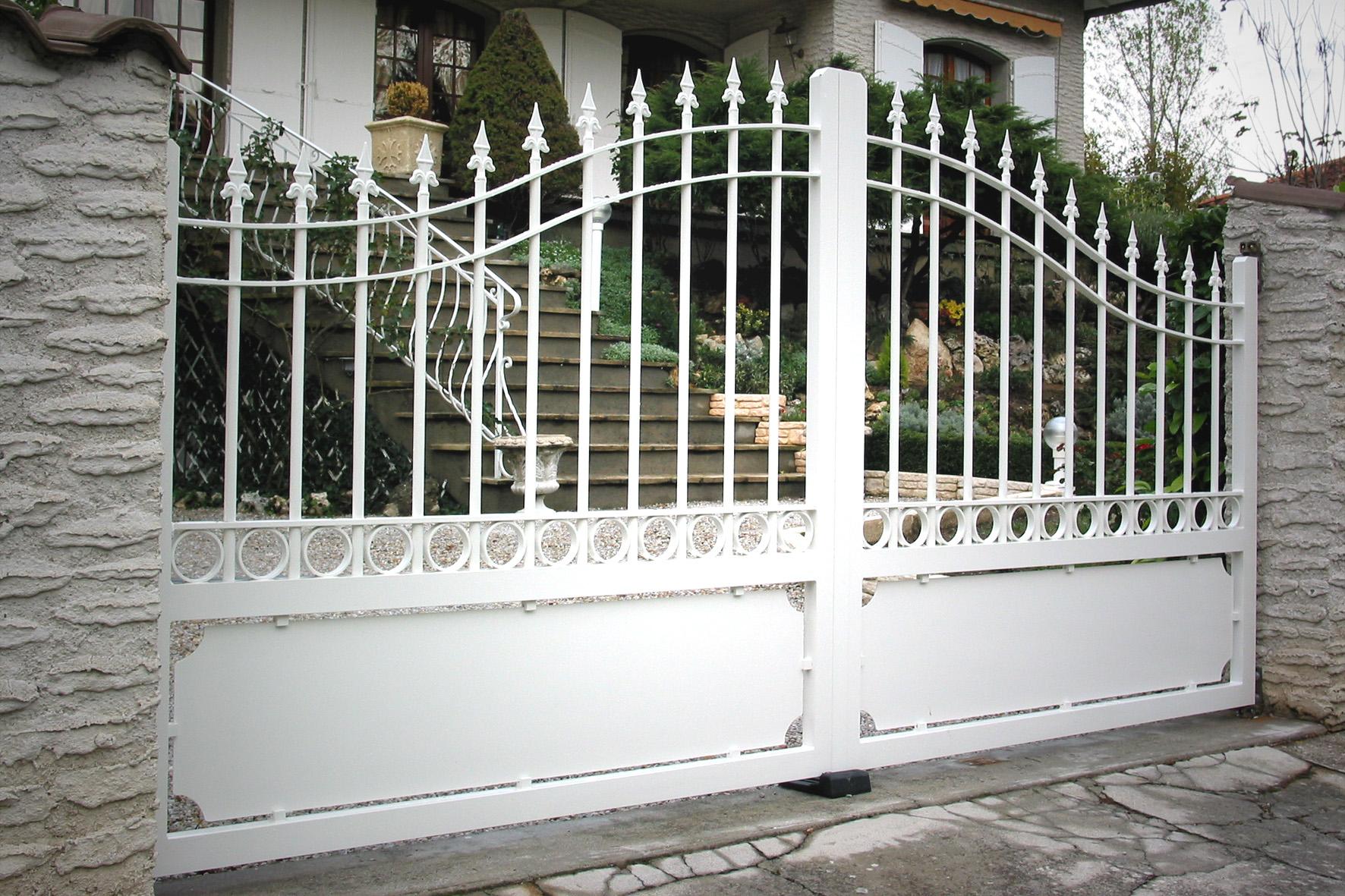metallerie et ouvertures portail