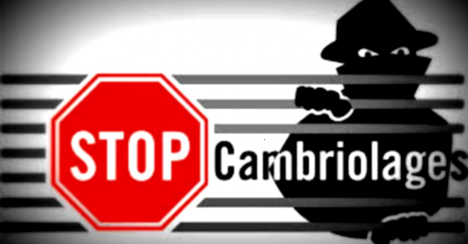 Stop-Cambriolage
